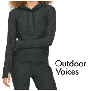 OUTDOOR VOICES All Day Hoodie Pullover Top